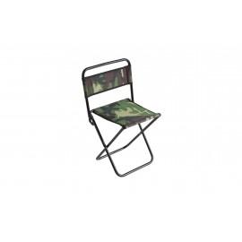 Krzesło, krzesełko mikado oparcie, moro, kamuflaż