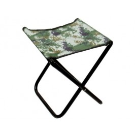 Krzesło bez oparcia mikado, stołek, krzesełko przenośne, krzesełko rozkładane