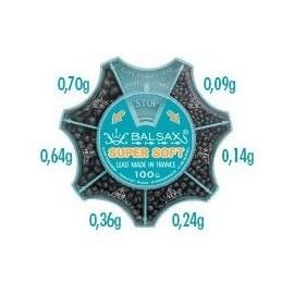 Ołów Śrut opakowanie 100g BALSAX cienki