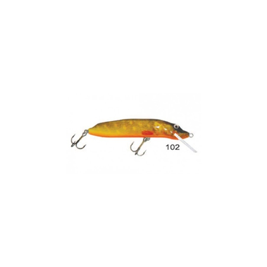 Wobler PIKE FLOATER 12CM 15G 1,0-3,0M 102 Mistrall
