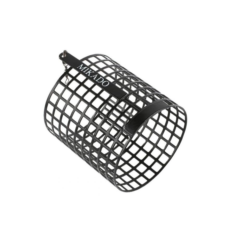Koszyczek wstępnego nęcenia XL (50x57)- Czarny
