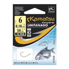 Haczyki Umitanago Leszcz z przyponem KAMATSU