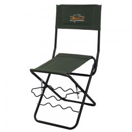 Krzesło wędkarskie Robinson z oparciem
