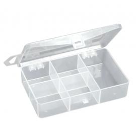 Pudełko twisterowe z regulowanymi przegródkami 11.8x7.5x2.5cm, 5 przegród