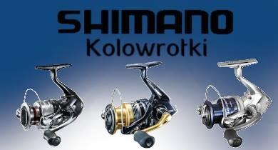 Kołowrotki Shimano