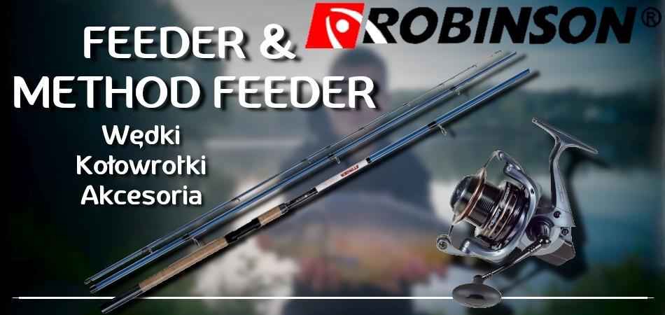 Feeder, Method Feeder, Wędki, Kołowrotki, sprzęt feederowy, koszyki feederowe, podajniki method feeder, gotowe przypony z włosem.